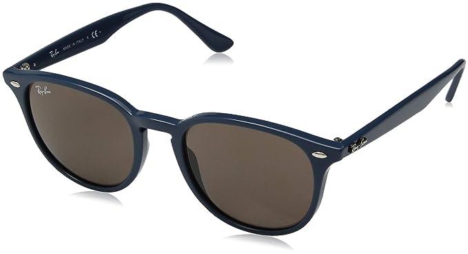 f2dfe209f3 Amazon.com  Ray-Ban 0rb4259 Square Sunglasses BLUE 50.9 mm  Clothing