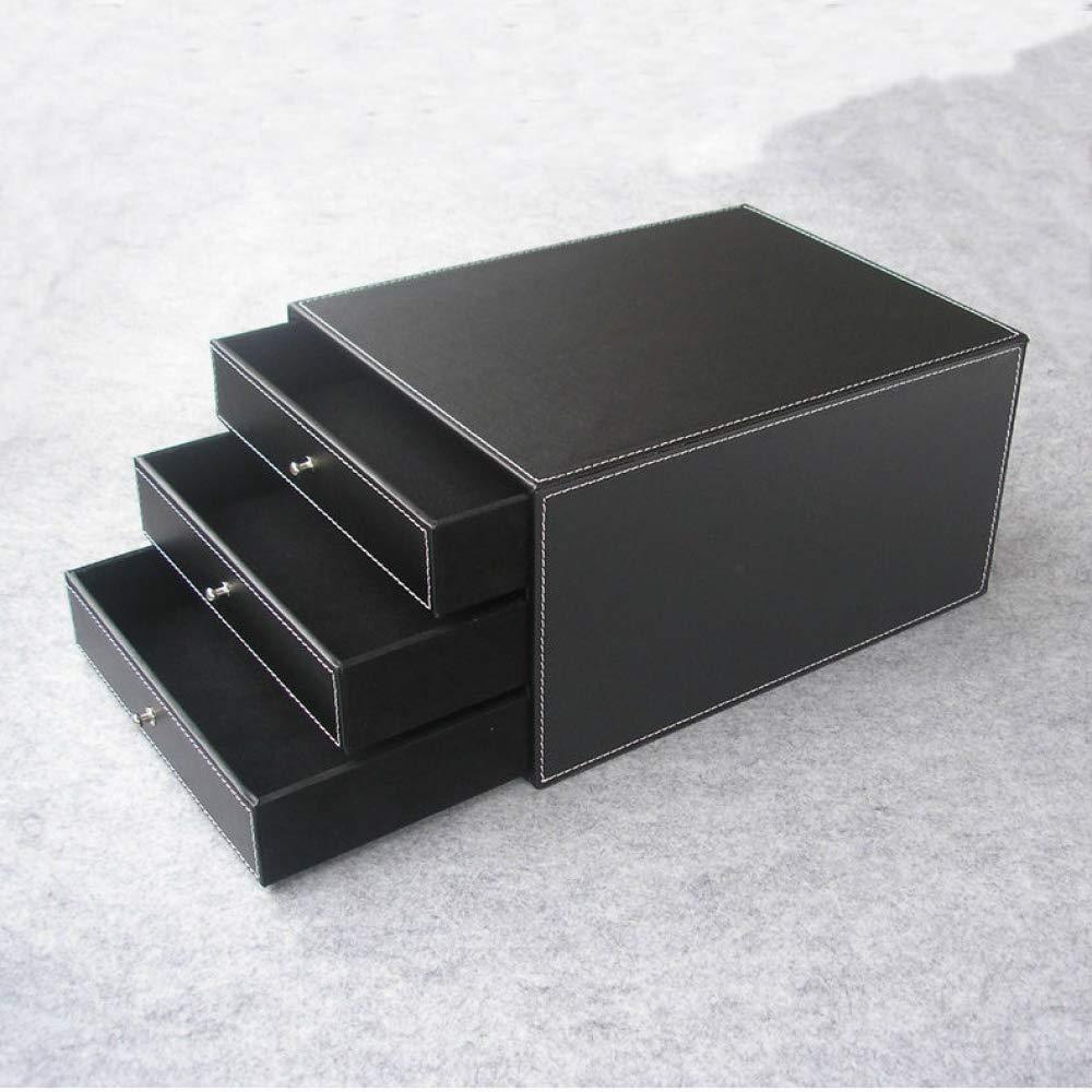 ... Madera de 3 cajones y 3 cajones archivador Organizador para Oficina Organizador de Documentos contenedor de contenedores Negro-Negro: Amazon.es: Hogar
