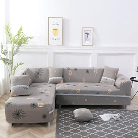Awesome Wymbk L Shape Couch Cover Sectional Sofa Cover 1Pcs Spiritservingveterans Wood Chair Design Ideas Spiritservingveteransorg