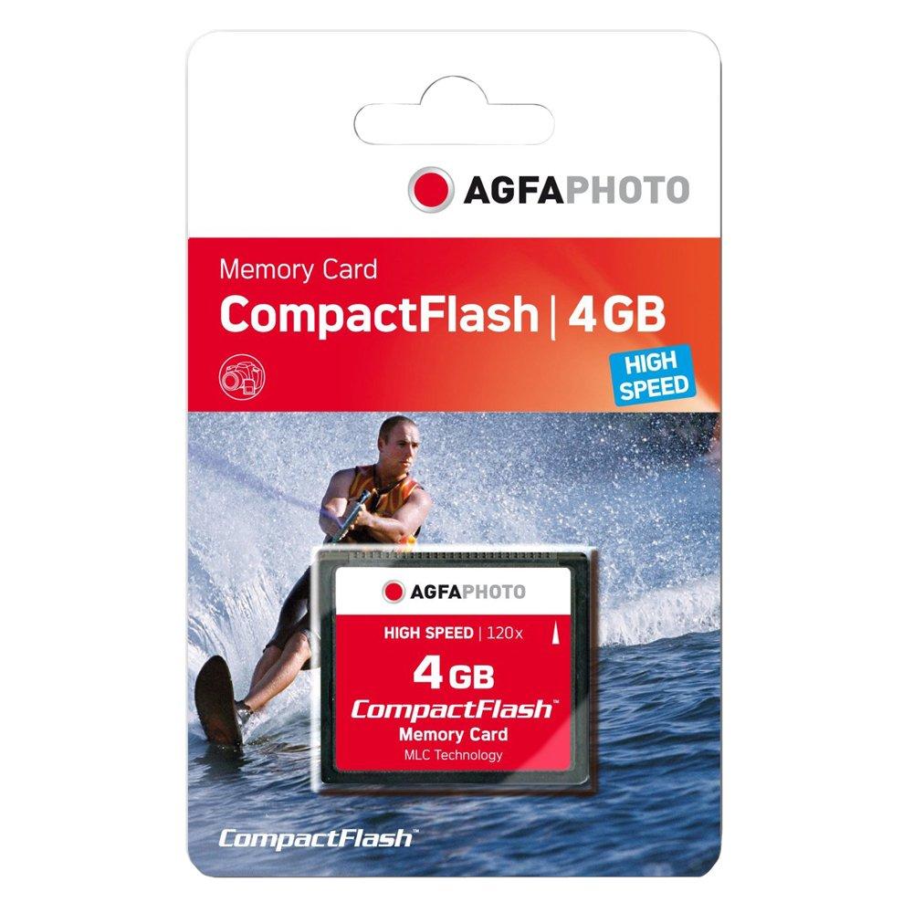 AgfaPhoto 120x High Speed MLC Compact Flash CF 4 GB Speicherkarte