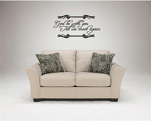 com home decor motivational wall sticker quotes god be