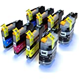 2 Full Sets (8) Compatible Ink Cartridges for Brother MFC J6920DW