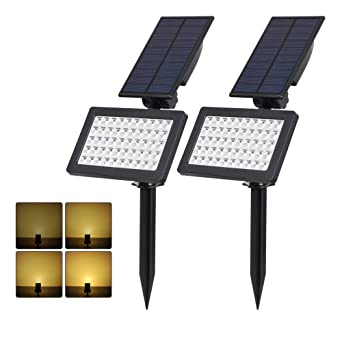2 Pezzi T Sun Luci Solari Da Esterno Wireless Lampada Solare Da