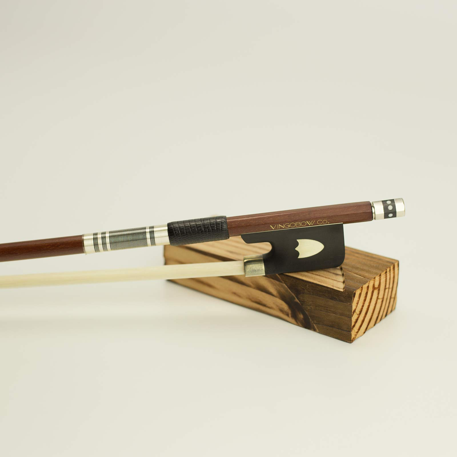 VingoBow Full Size PERNAMBUCO Wood Material Cello Bow For Professional Players! Deep and Poweful SOUND, Natural Horse Hair!! Art No.430C