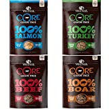 Wellness Natural Pet Food Core Grain Free Freeze Dried Dog Treats Variety Pack – 4 x 2 oz For Sale