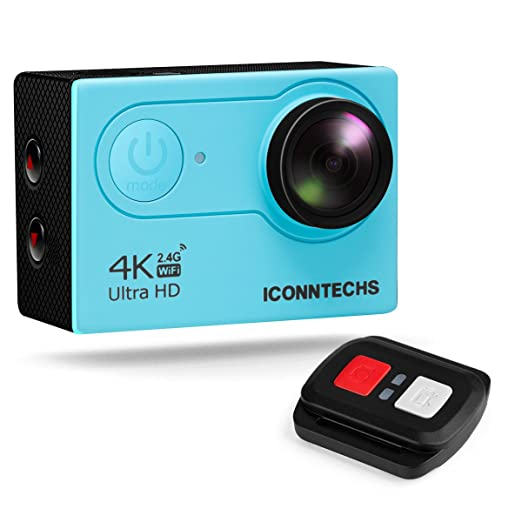 191 opinioni per ICONNTECHS IT Action Camera 4K 12MP HD Action Cam per Casco Videocamera