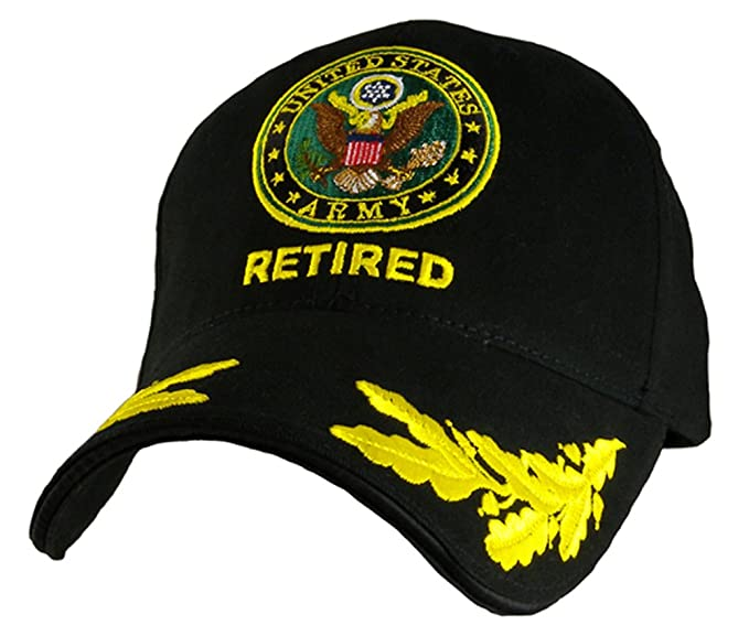 b640c549e18b4 Amazon.com  U.S. Army Seal Retired with Eggs Cap  Clothing