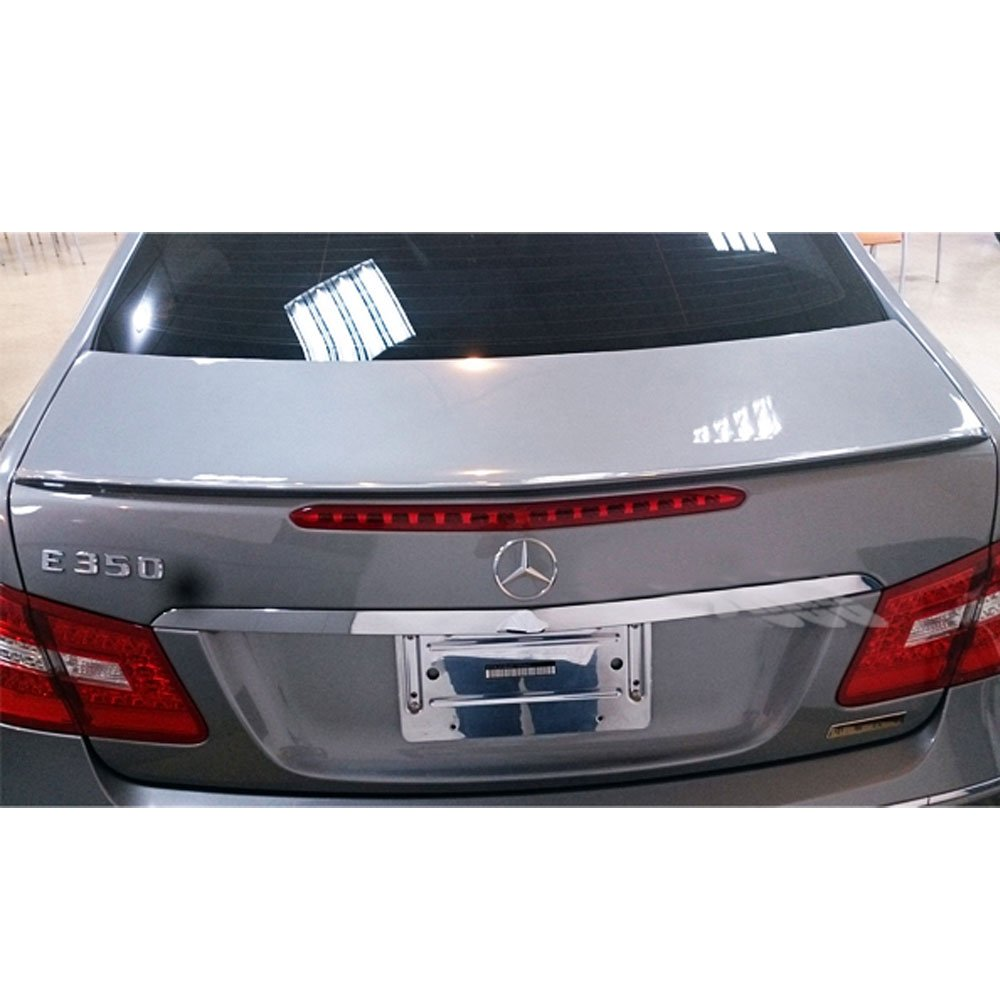2011 2012 2013 2014 2015 2016 AMG Style Unpainted Raw Material Black ABS Rear Tail Lip Deck Boot Wing by IKON MOTORSPORTS Trunk Spoiler Fits 2010-2017 MB Benz E-Class W207 C207 2Dr Coupe