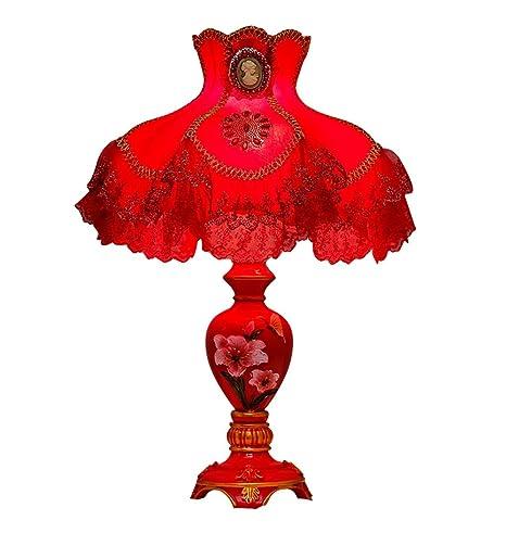 YXWtd Lámpara de Mesa de Dormitorio Lámpara de Mesa lámpara de ...