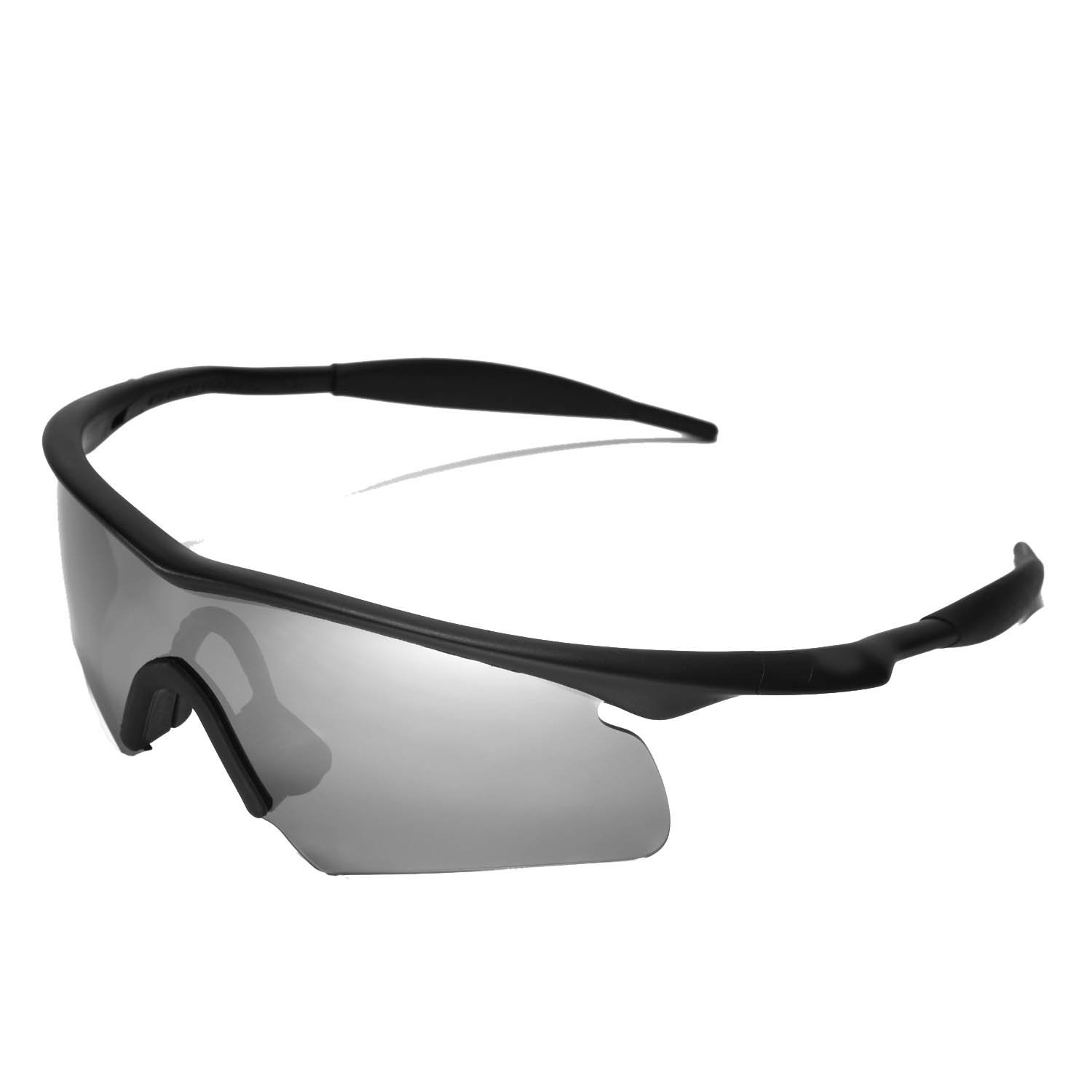 a0ed3b4aad Walleva Replacement Lenses for Oakley M Frame Hybrid Sunglasses - Multiple  Options  (Black )