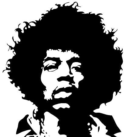 Jimi Hendrix Wall Sticker Decal