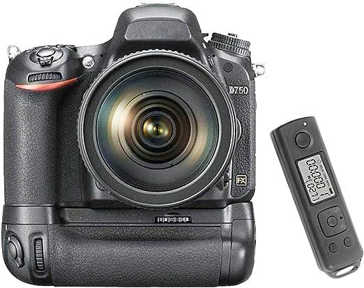 Meike MK-DR750 batería Grip para Nikon D750 Negro: Amazon.es ...
