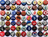 used beer caps - 100 Assorted Beer Bottle Caps from North America Including Micro and Macro Breweries