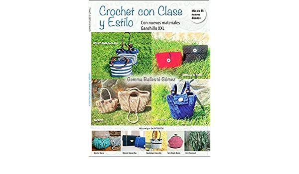 CROCHET CON CLASE Y ESTILO eBook: Gemma Ballesté Gómez: Amazon.es: Tienda Kindle