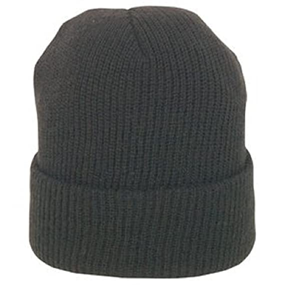 Amazon.com  BLACK GENUINE WOOL WATCH CAP  Military Apparel Accessories   Clothing 6344ef72e05