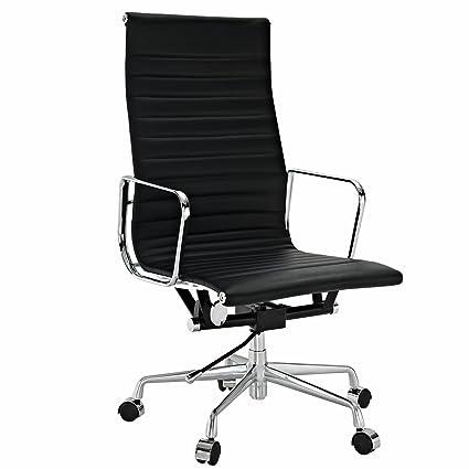 amazon com eames style aluminum group executive office chair