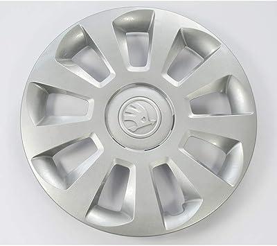 Skoda 1st601147bz31 Radzierkappe 1 Stück Radblende 14 Zoll Radkappe Radzierblende Stahlfelge Brilliantchrom Auto