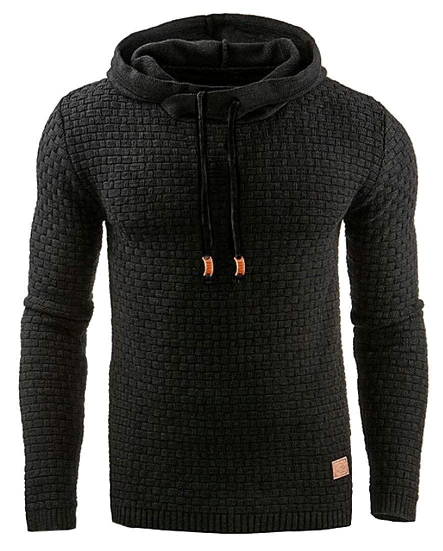 omniscient Mens Long Sleeve Hoodie Pullover Cozy Sport Outwear Hooded Sweatshirt