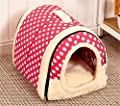 Winter Warm FOLDABLE Non-Slip Outdoor Pet Kennel Cozy Dog House Cat Sofa Puppy Bed from SF Net Trading