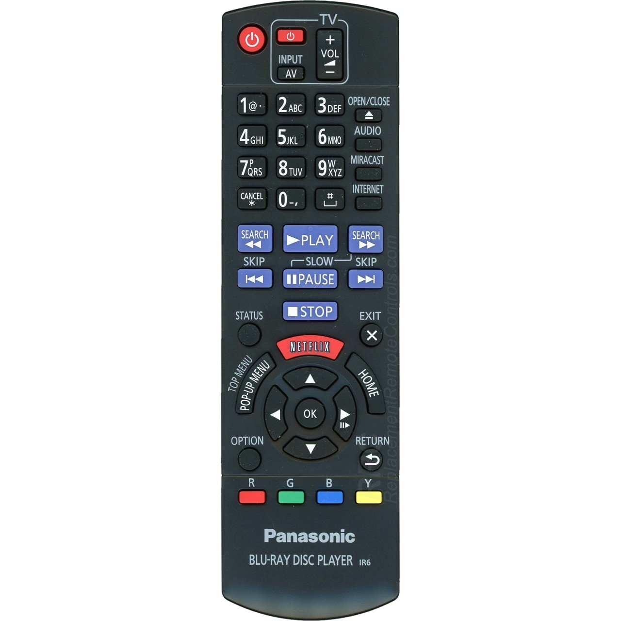 Panasonic Panasonic n2qayb000874 Blu - ray/DVDプレーヤーのリモートコントロールdmp-bdt230 B07BQJWHVB、dmp-bdt330 Blu B07BQJWHVB, アマチョウ:fc80be65 --- tosima-douga.xyz