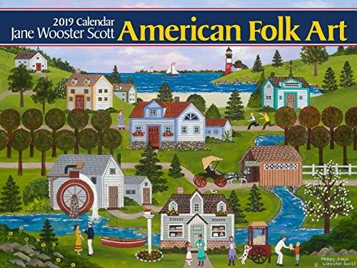 American Folk Art 2019 Calendar