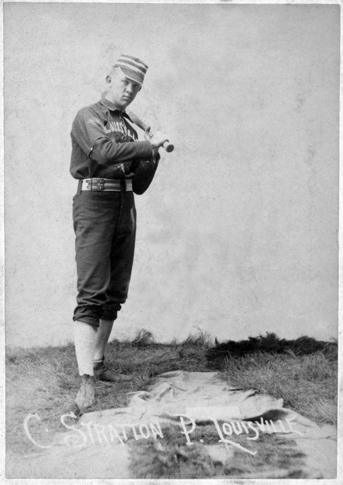 Louisville Colonels – C。Stratton – 野球カード 16 x 24 Giclee Print LANT-22486-16x24 16 x 24 Giclee Print  B017ZEGL6K