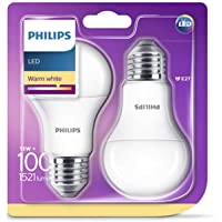 Philips Bombilla LED estándar E27, 13 W equivalentes
