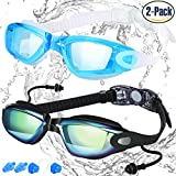 COOLOO Swim Goggles, Pack of 2, Swimming Goggles Review and Comparison