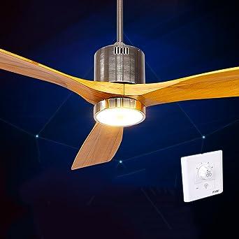 Europäische Antike Fan Lichter Deckenventilator Licht Minimalistisch  Modernen Amerikanischen LED Kronleuchter Fan Holz Fan Blatt