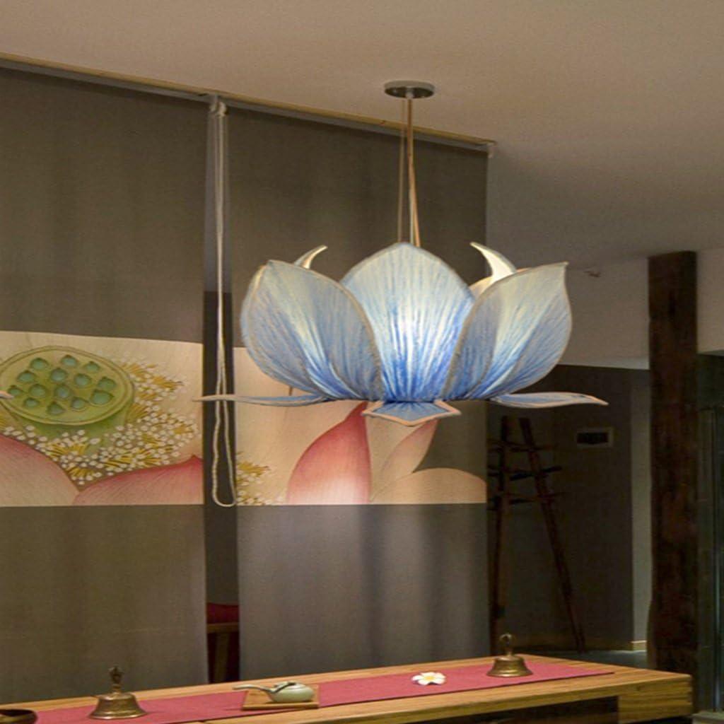 Clothes UK- Lámparas de Tela Chinas Creativas Azules Lámparas de ...