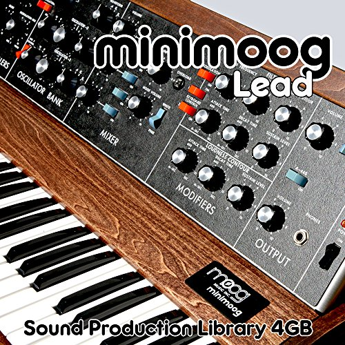 MINIMOOG LEAD - The King of Analog Sounds - Large unique original 24bit WAVE/Kontakt Multi-Layer Samples/Loops Library. FREE USA Continental Shipping on DVD or download; by SoundLoad