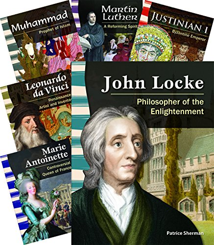 Biographies: World History 8-Book Set (Social Studies Readers) by Shell Education