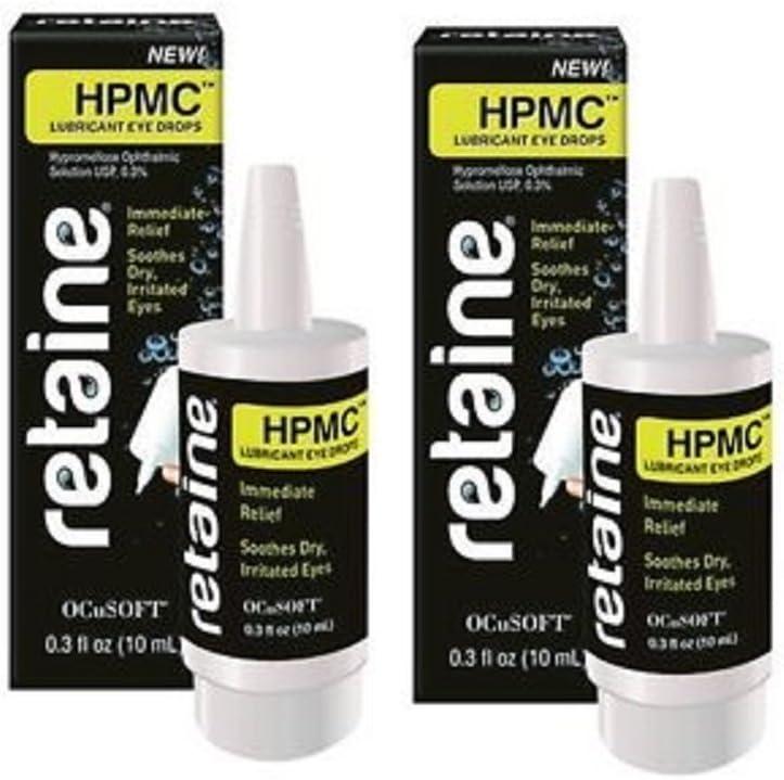 Retaine HPMC Lubricant Eye Drops 0.3 floz (10ml) (2)