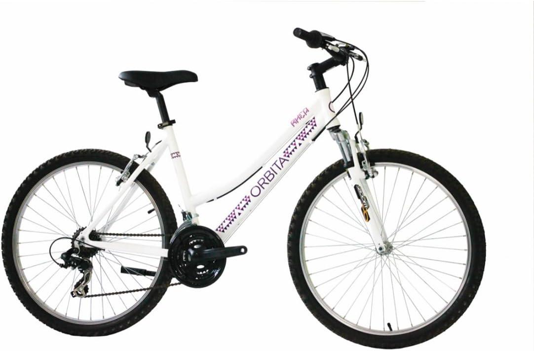 Orbita BTT 26 Rhea Bicicleta, Mujer, Blanco, XS: Amazon.es: Deportes y aire libre