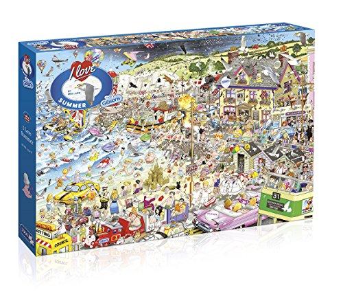 [Gibsons I Love Summer Jigsaw Puzzle (1000-Piece)] (Cartoon Jigsaw Puzzles)