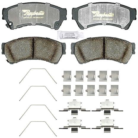 RAYBESTOS Rear Ceramic Disc Brake Pads Kit Set for Honda Acura Suzuki