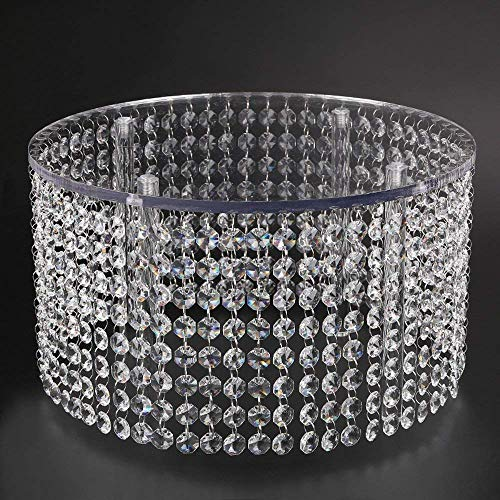 Crystal Wedding Cake Stand Chandelier Style, Bling Crystal Chandelier Cake Stand Round-Chandelier Cake -