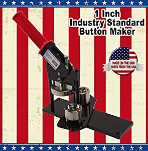 "1"" Button Maker Machine + 1000 Button Sets"