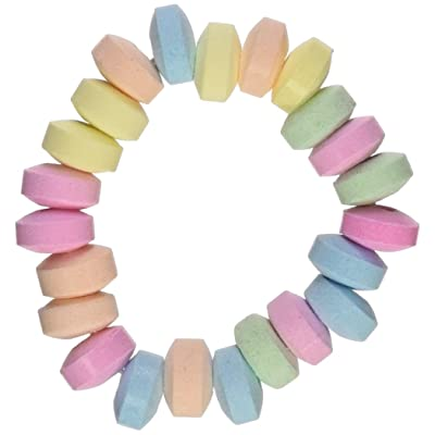 "Stretchable Candy Bracelets 48 pcs. per unit) 2 1/2"". Easter & Easter Candy: Grocery & Gourmet Food"