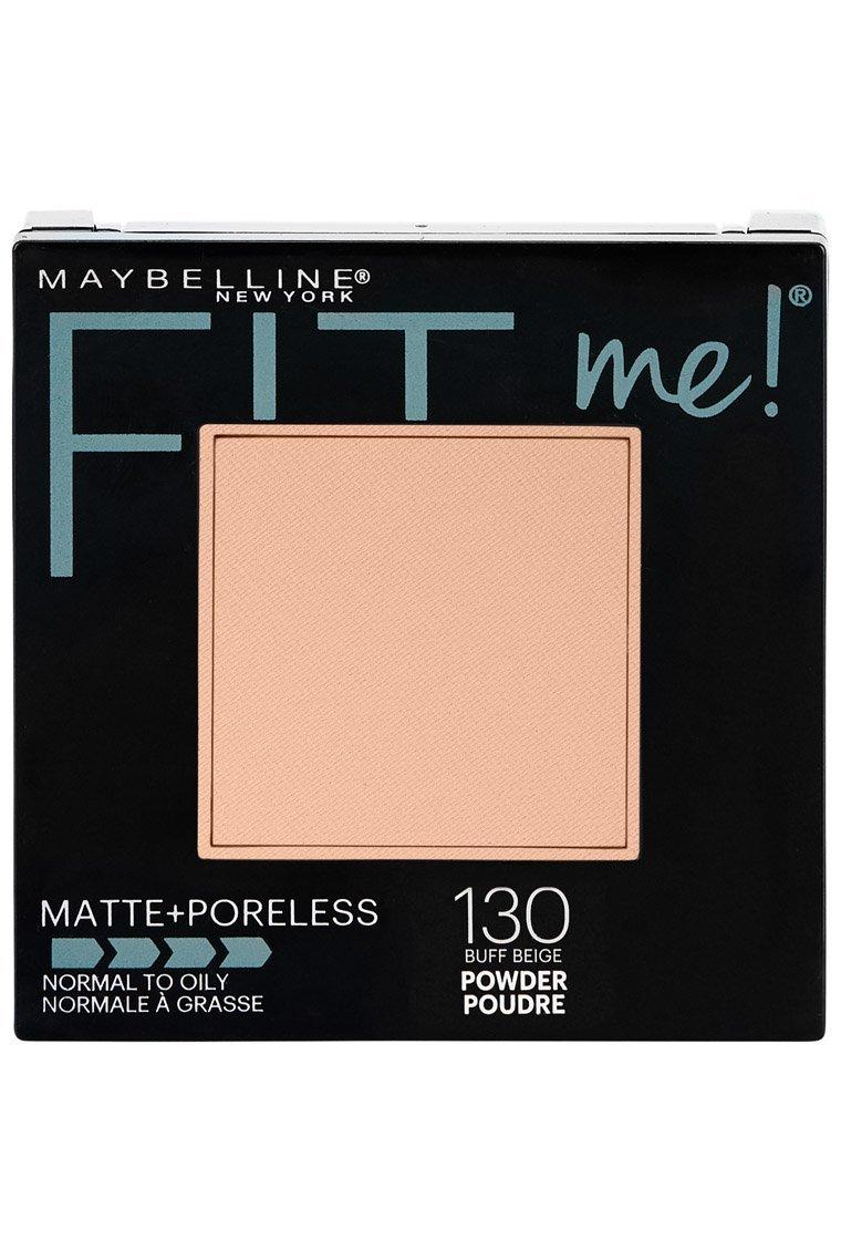 Maybelline New York Fit Me Matte Plus Poreless Powder, Translucent, 0.30 Ounce 100 Translucent