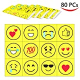 80 Disposable Placemats Table Topper , Extra Sticky (4 Sides) Adhesive Peel and Stick Strips Disposable Mats for Kids Toddlers Baby Children , BPA Free Kids Safe , FDA Approved