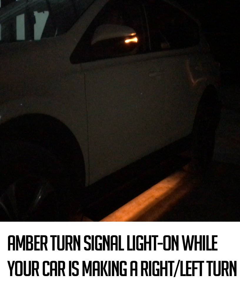 "MPH Auto 5.5/"" Running Boards LED Light Bars Pre-Installed Custom Fit 2004 2005 2006 2007 2008 2009 2010 2011 2012 2013 2014 Ford F150 F-150 SuperCab Super Cab Black Side Step mj-032-r-l 2pc"