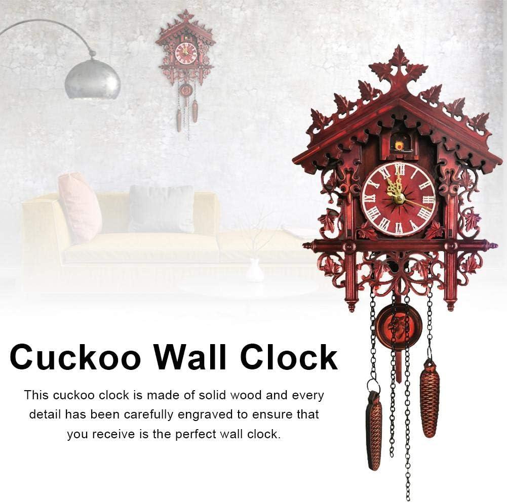 navigatee Mur horloges /à Coucou for/êt Noire en Bois Coucou Horloge de la for/êt Noire /à la Main sculpt/é Coucou Maison d/écor /à la Maison