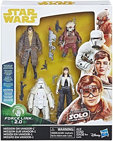 Rio Durant Star Wars Solo Force Link 2.0 Figure