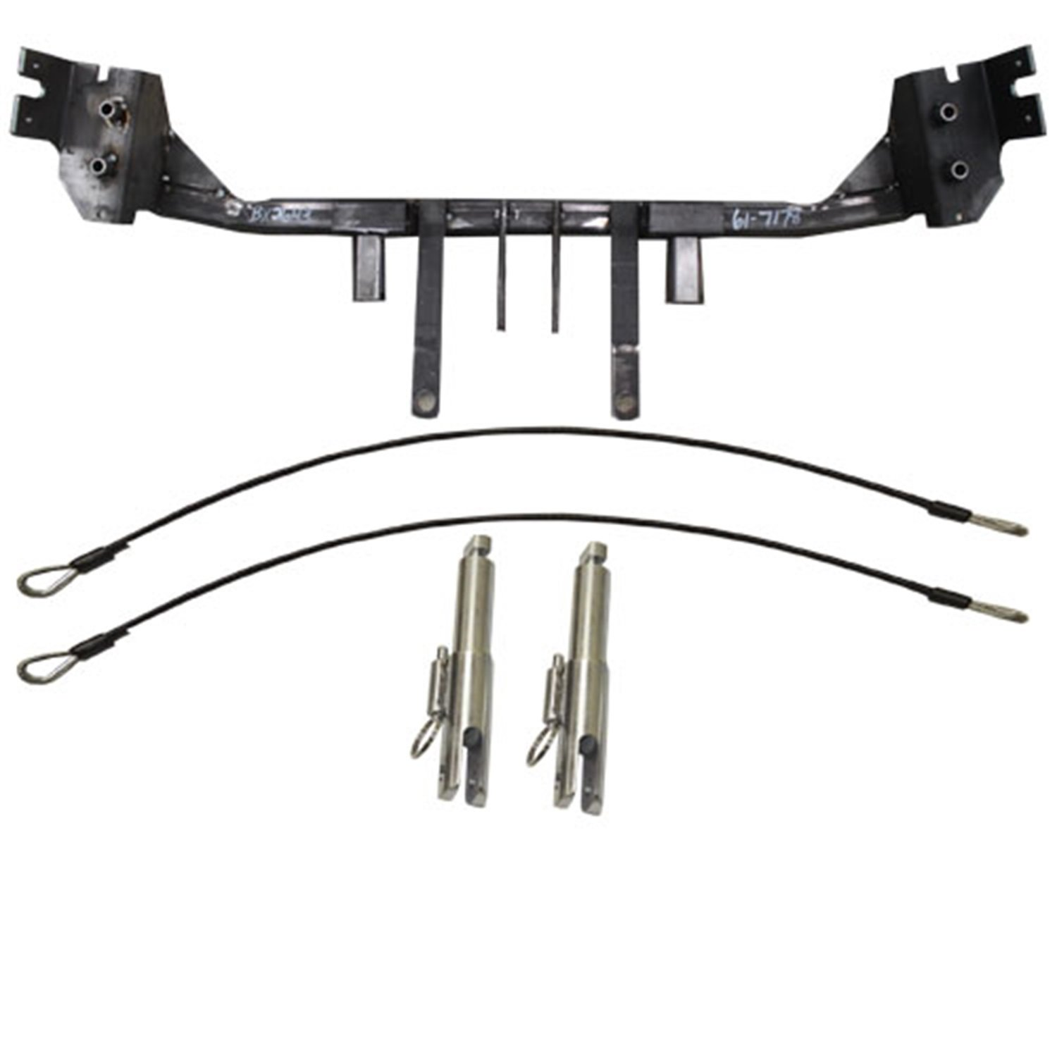 Blue Ox BX2643 Baseplate for Ford Taurus