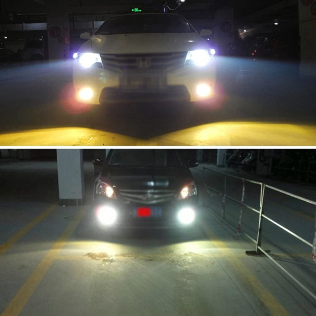 AC 12V LYN 2 PCS D2H 55W 5500K HID-Lampen Xenon-Licht-Lampen-Qualit/äts-Scheinwerfer-Birnen
