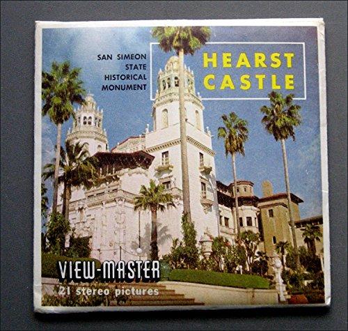 1950 Viewmaster Reel - Hearst Castle - ViewMaster 3 Reel Set