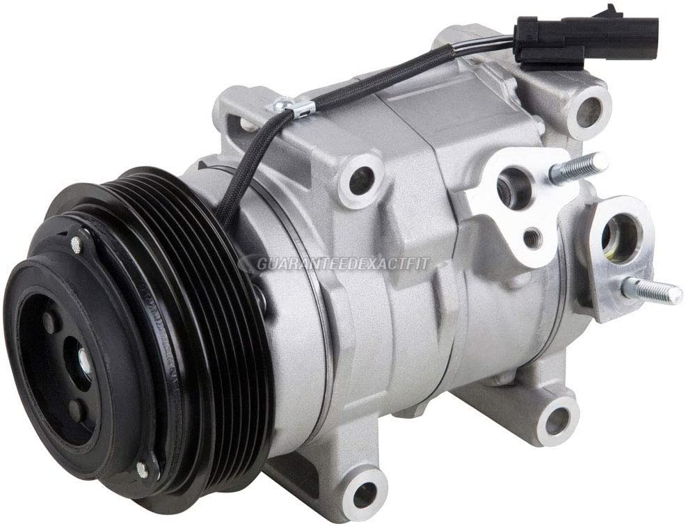 For Chrysler 200 2011 2012 2013 2014 AC Compressor /& A//C Repair Kit BuyAutoParts 61-93595RK New