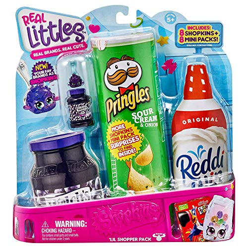 Shopkins Real Littles Lil' Shopper Pack is a popular toy for girls