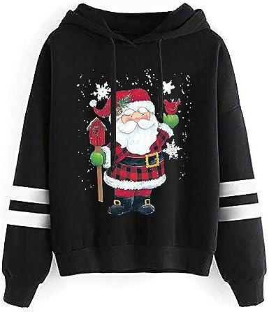 Tops Christmas Hours 2020 Amazon.com: Christmas Hoodies for Women Fashion 2020 Autumn Winter